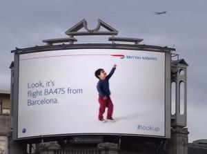 British Airways Billboard