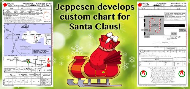 Santa Jeppesen Chart