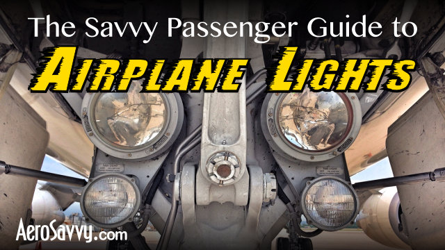 Airplane Lights - What are they all for?