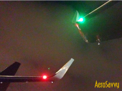 Passenger Guide to Airplane Lights - Airplanes, especially big ones, are loaded with exterior lights. Here's what they're all for and how we use them!