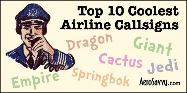 Top 10 Airline Call Signs