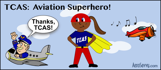 TCAS Aviation Superhero