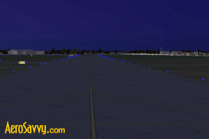 Blue taxi lights - Airport Lights - AeroSavvy