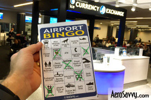 AeroSavvy Airport BINGO Currency Exchange