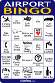 AeroSavvy Airport Bingo Card 3