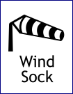AeroSavvy Airport Bingo Windsock Icon