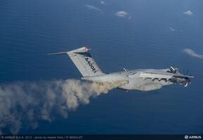 A400M dispersing ash