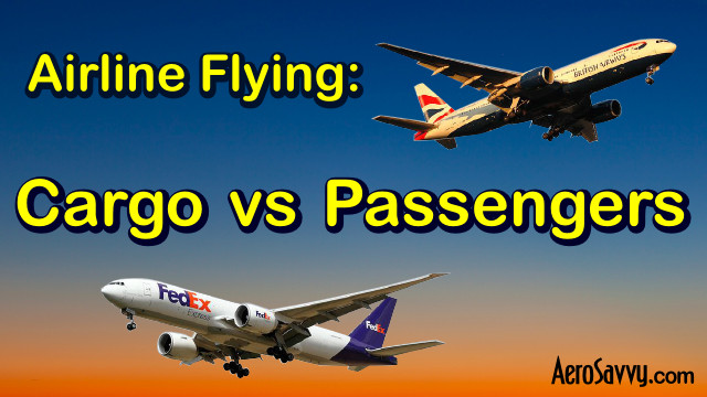 AeroSavvy Top 2016 Airline Flying Cargo vs Passenger