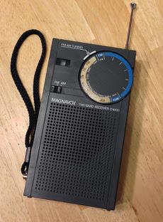 My homemade aviation-band radio.