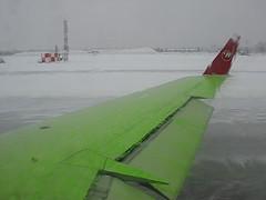 Aircraft De-icing - Green