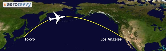 AeroSavvy - Airline Great Circle Routes