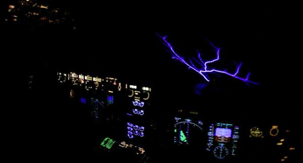 Static Discharge: Windshield Light Show - AeroSavvy