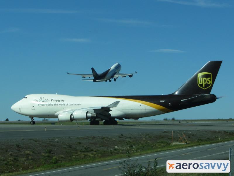 UPS 747 departing Anchorage - 15 More Top 10 Call Signs - AeroSavvy