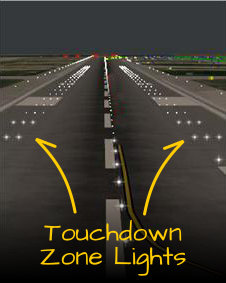 Touchdown zone - Airport Lights - AeroSavvy