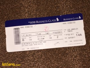 AeroSavvy - Singapore Airlines Business Class Review